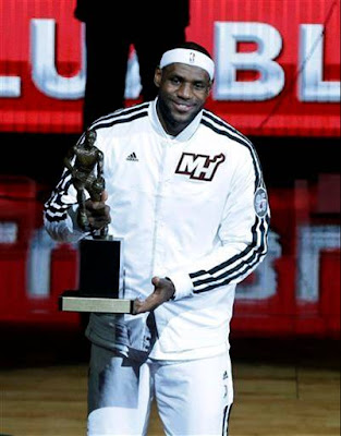 LeBron fourth mvp