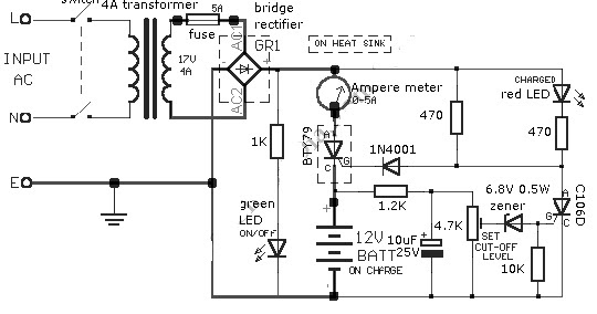 Circuit Symbols together with Schumacher Battery Charger Se 4020 Wiring Diagram furthermore Marconi Wireless Radio Diagram additionally 700w 800w 900w Smps Sg3525 Ir2110 furthermore Lm317. on battery charger circuit diagram