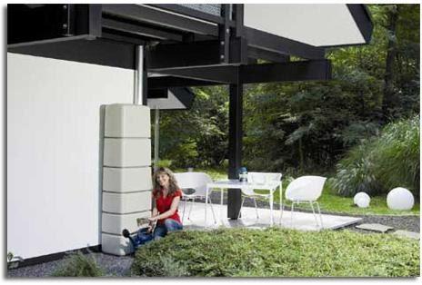 Huerto urbano instalaci n de un deposito de agua pluvial for Deposito agua pluvial