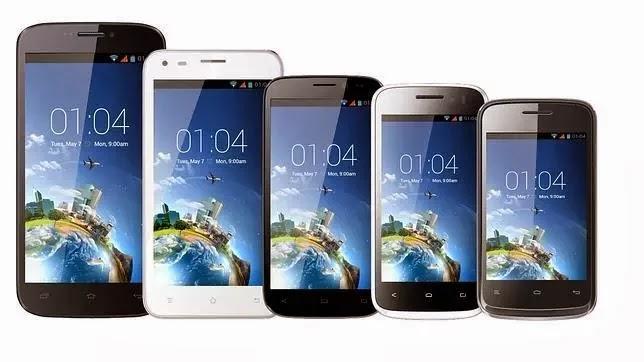 Dos nuevas gamas de Smartphones Android: Trooper y Thunder de Kazam