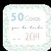 50 cosas que he hecho en el 2014