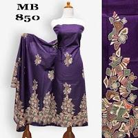 motif kain batik batu ungu