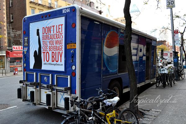 New York November 2012 Pepsi Wagen