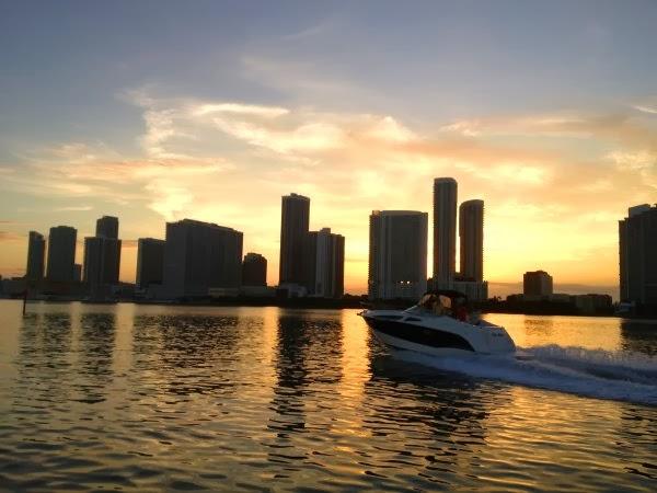 Puesta de Sol en Miami