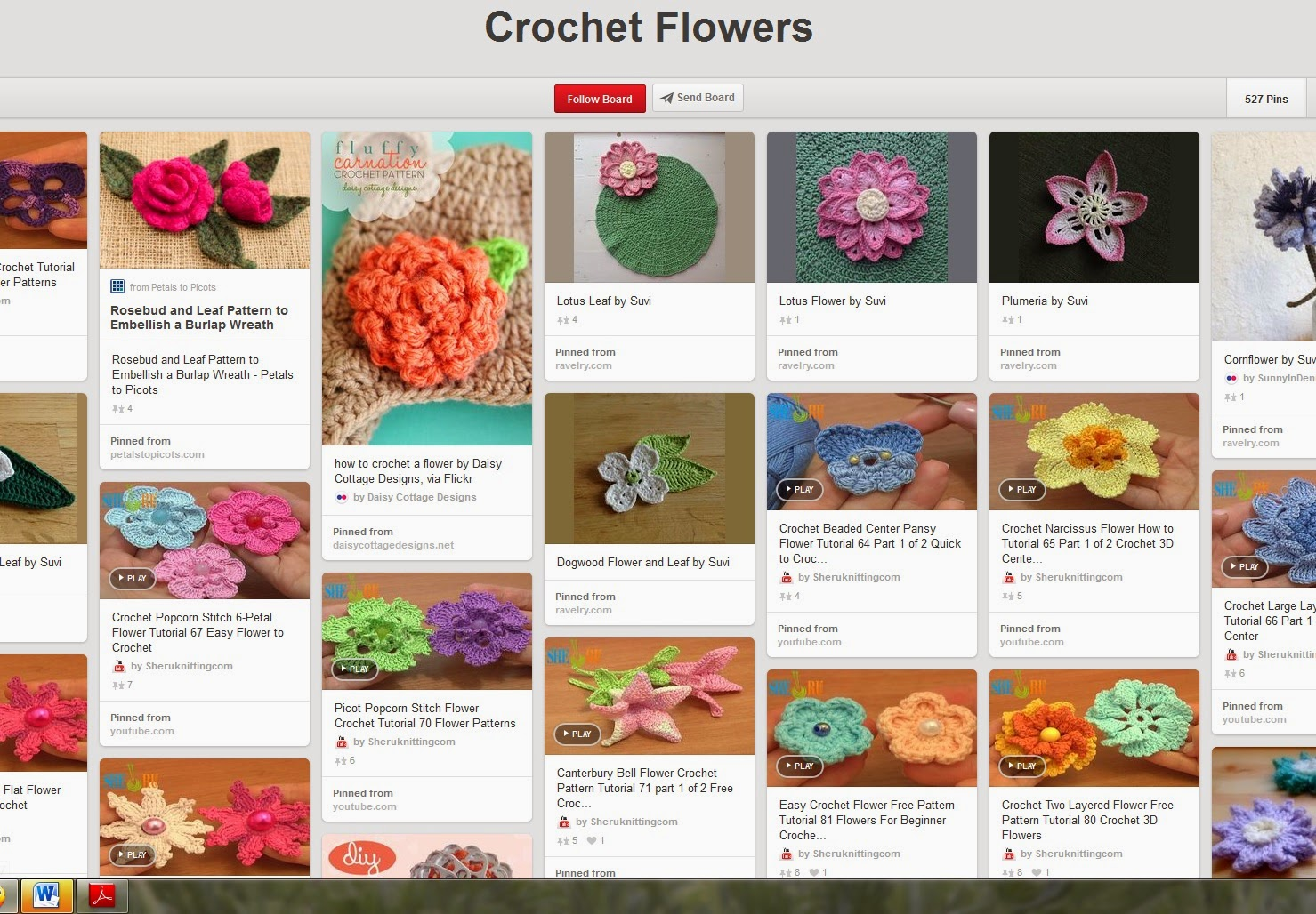 http://crochetcafe.blogspot.com/search/label/Pinterest%20board%20of%20the%20week