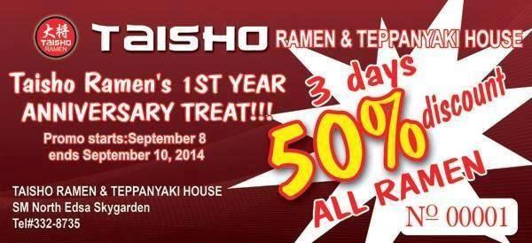Taisho Ramen and Teppanyaki House