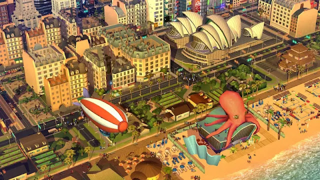 Download SimCity BuildIt v1.8.13.36281 Mod Apk+Data For Android