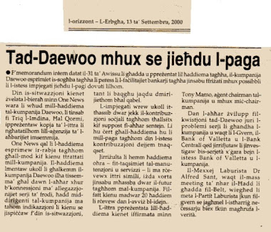 50 - John Dalli and the Daewoo Scandal
