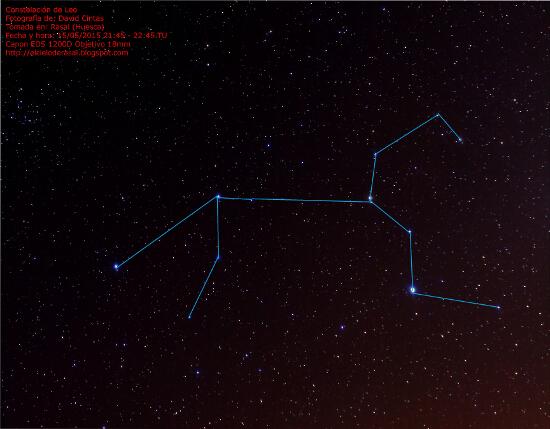 Constelacion de Leo - Mitologia - El cielo de Rasal