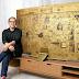 Gouden Ultra HD televisie van Samsung