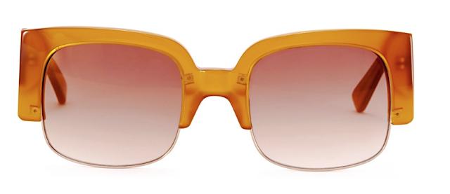 Rebajas SS 2015 complementos gafas de sol cuadradas amarillas