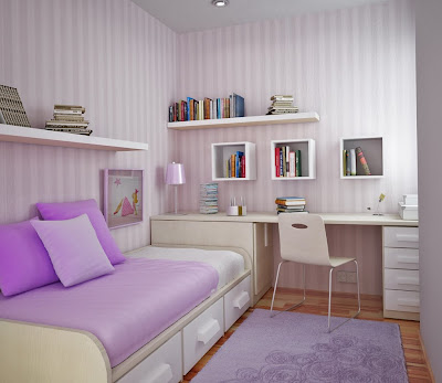 habitación juvenil reducida