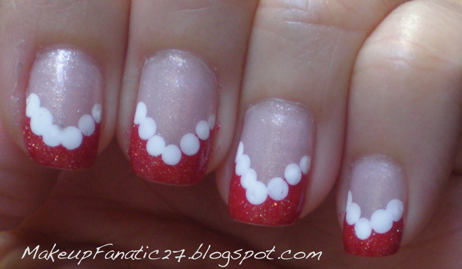 Home » Cute Nail Designs For Short Nails With White Base Color Clear