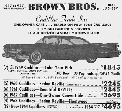 how much would seven 1959 cadillacs be worth today. Cars Review. Best American Auto & Cars Review