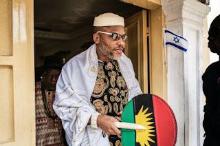 """Buhari Is Not In Nigeria, Man From Sudan Impersonating Him- Nnamdi kanu."