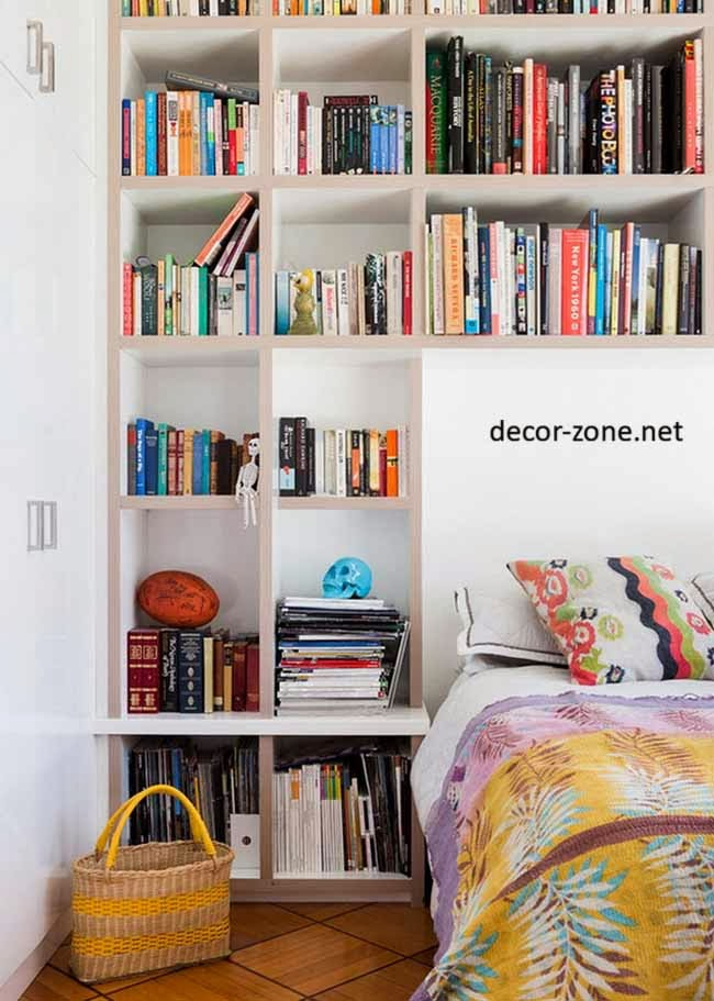 Bedroom shelving ideas 20 bedroom shelves designs Where to put a bookcase in a room