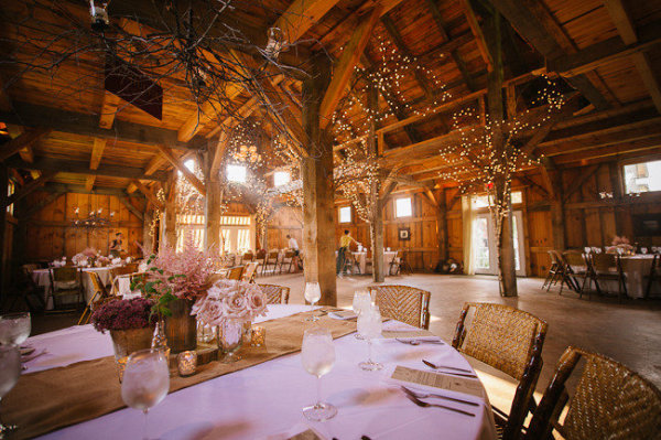 a chi chi affair: a beautiful barn wedding.