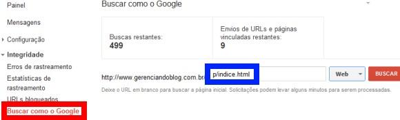 Buscar como o Google