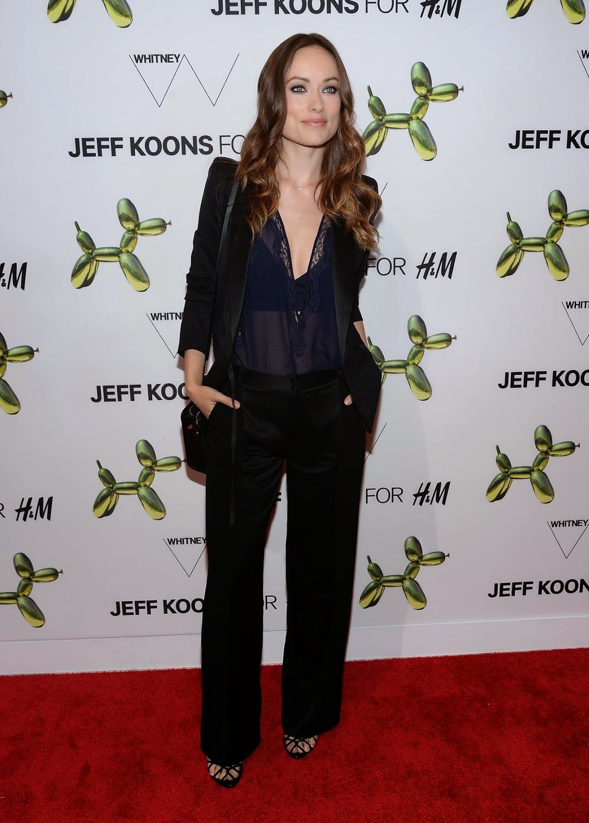 Olivia Wilde Attends The H Amp M Fifth Avenue Flagship Store