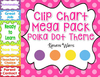 https://www.teacherspayteachers.com/Product/Polka-Dot-Clip-Chart-Mega-Pack-1927621