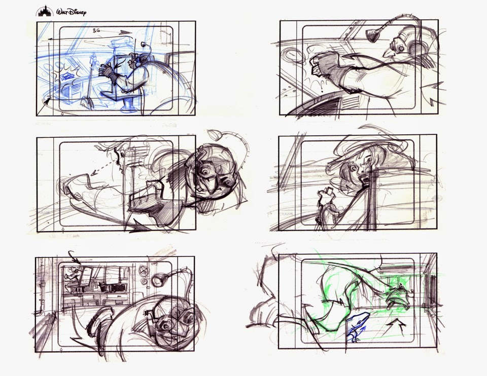 Disney Atlantis Character Design : Barry crain tv cartoon storyboards