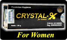 CRYSTAL-X Stick | Perawatan Kewanitaan
