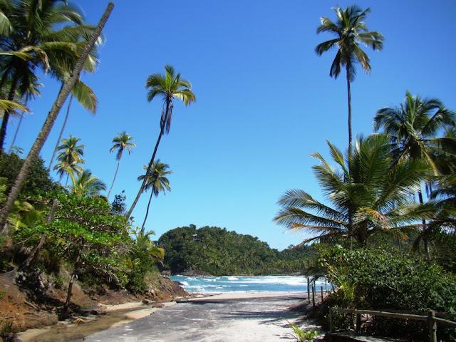 pequena praia
