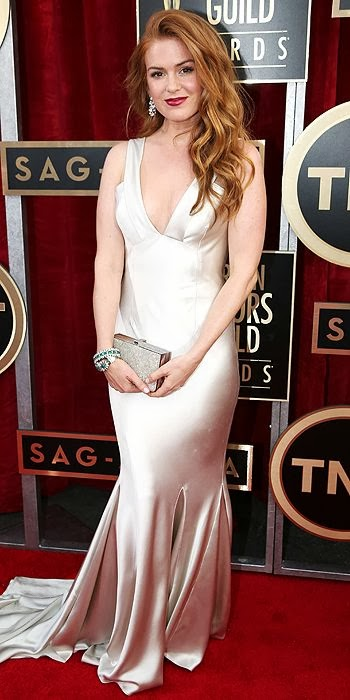 Isla Fisher, SAG Awards, red carpet, fashion