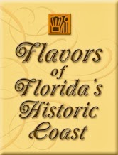 Flavors of Floridas Historic Coast 3  Flavors FHC button St. Francis Inn St. Augustine Bed and Breakfast