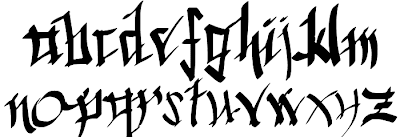 Lowercase Calligraphy