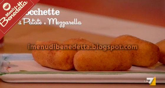 Crocchette di Patate, Mozzarella e Acciughe di Benedetta Parodi