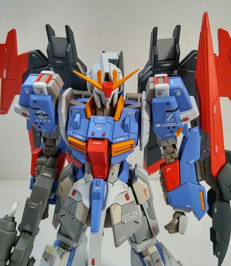 Lightning Zeta Gundam Real Grade Version