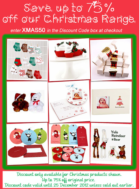 Christmas gifts on sale at The Baby Shower Shop