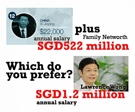 minister salary clean wage system Singapore