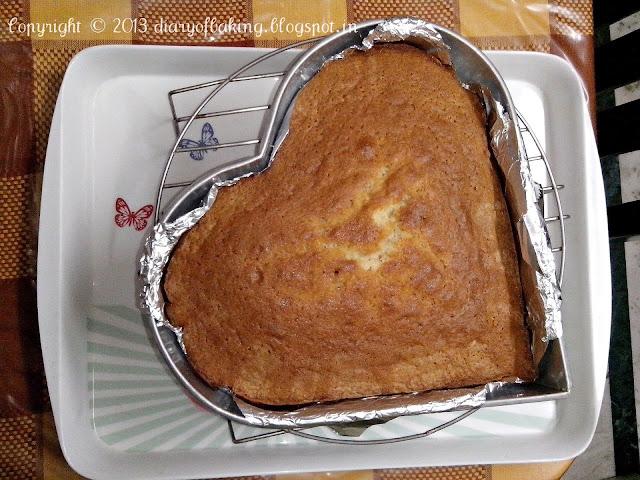 spongy butter cake
