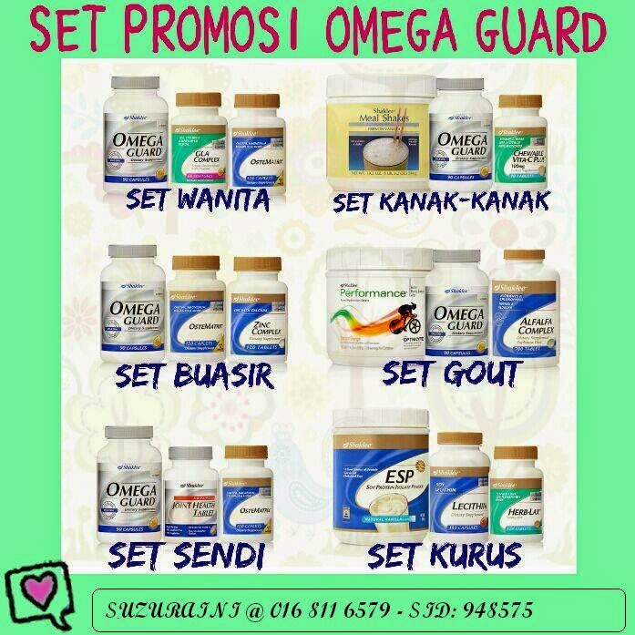 Set Cadangan Omegaguard