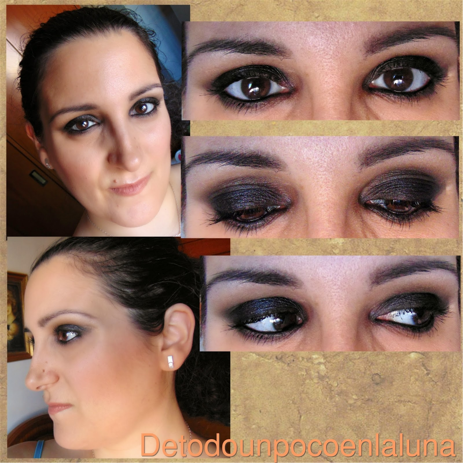 looks con la paleta Arabian Nights de Sleek