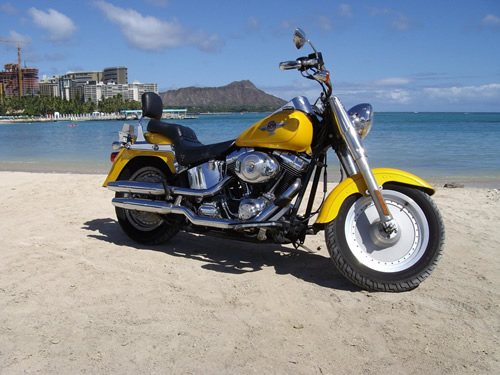 Harley Davidson Fatboy Wallpaper