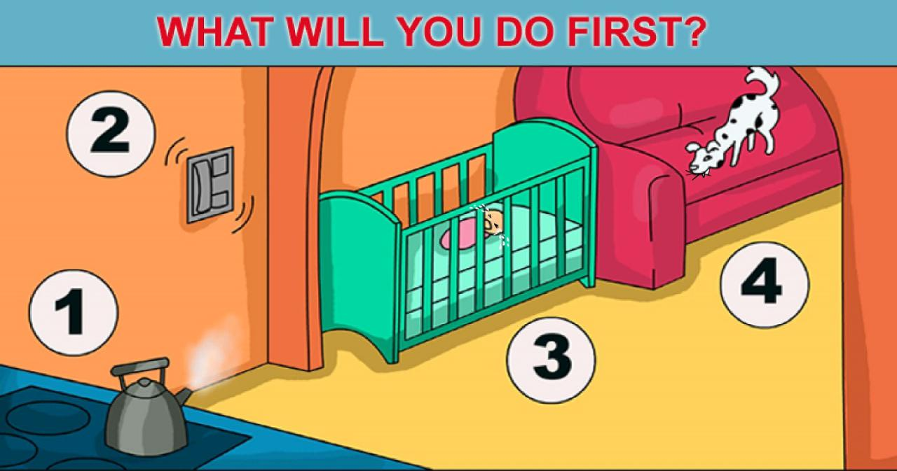 What Would You DoFirst inThis Situation The Result Can Reveal aLot About You picture