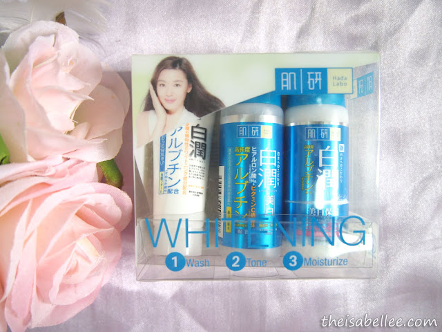 Hada Labo Whitening Face Wash, Lotion & Milk review