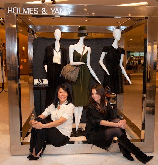 Katie Holmes et la styliste Jeanne Yang