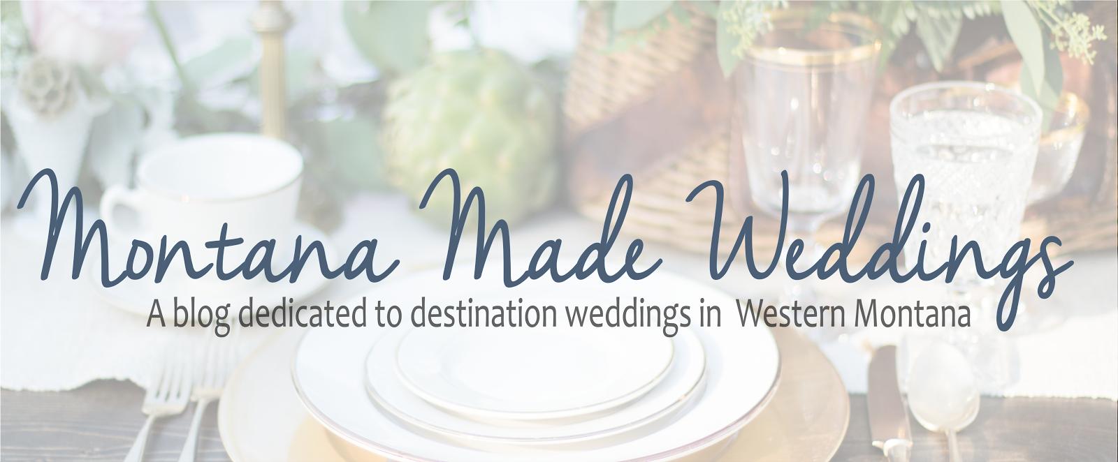 Montana Made Weddings