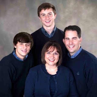 Scott Walker wife and family