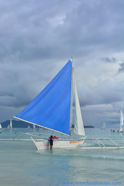 Sailing at Boracay
