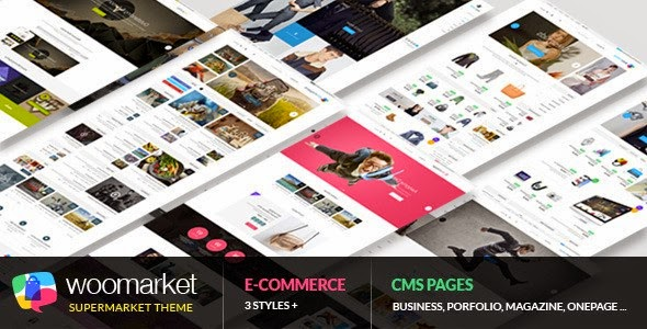 WooMarket WordPress Theme