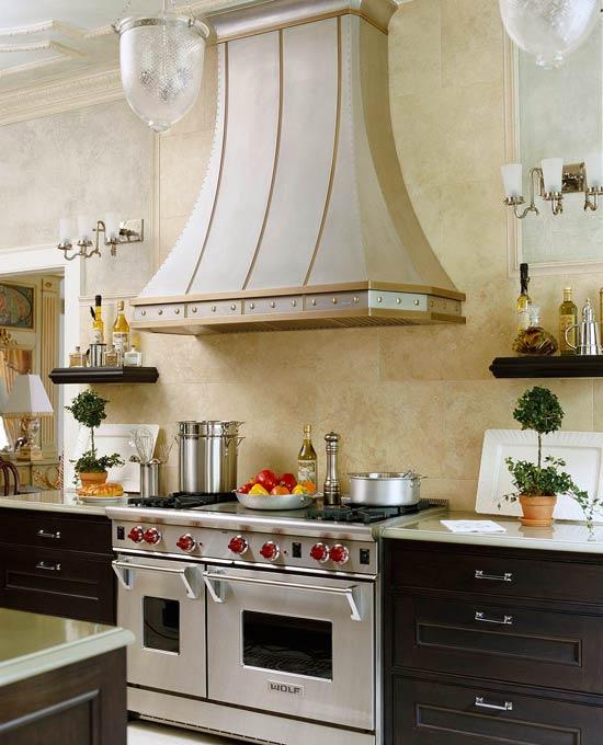 Kitchen No Backsplash: New Home Interior Design: Beautiful Kitchen Backsplashes