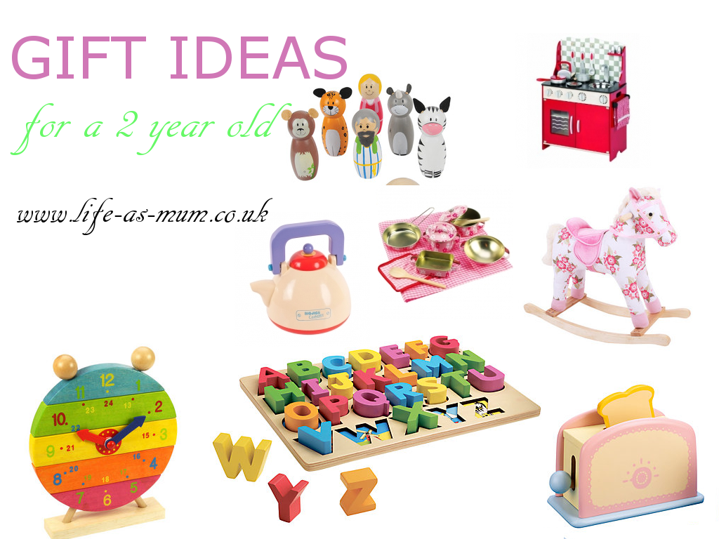 Gift Ideas For A 2 Year Old