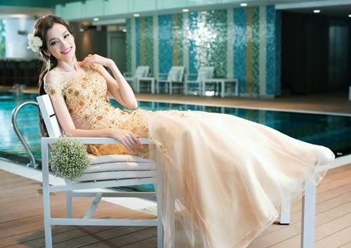 Những mẫu váy cưới mùa thu xu hướng năm 2014 cho cô dâu2