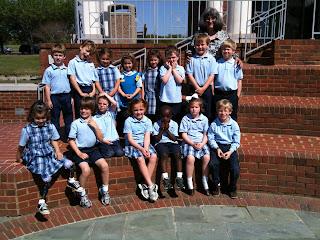 Montgomery Catholic Kindergarten Visits MMFA 1