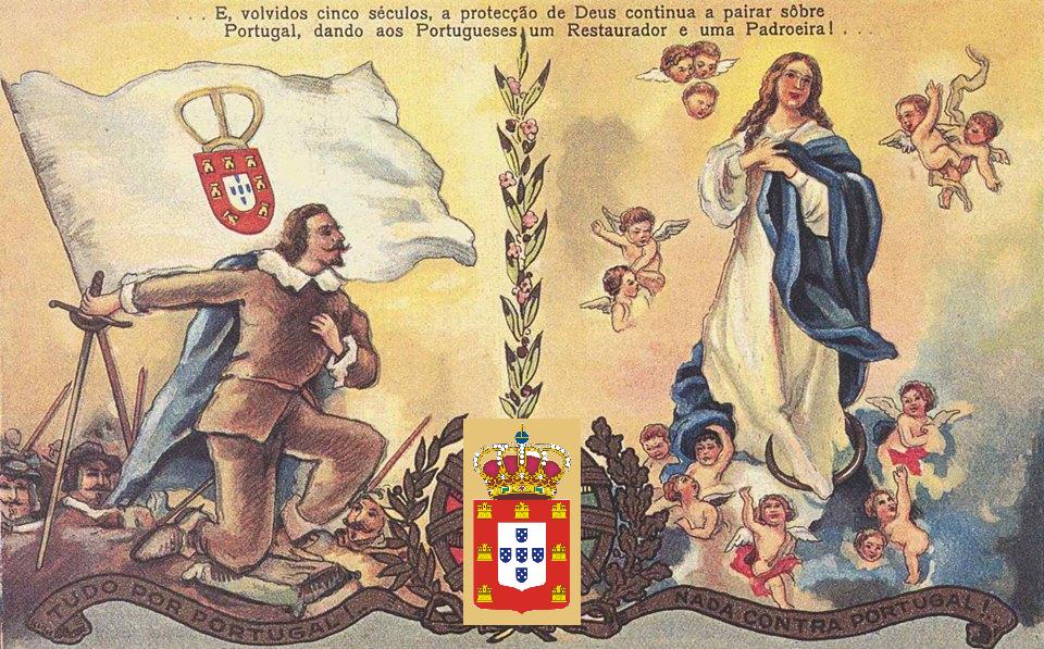 SOLENIDADE DA IMACULADA CONCEIÇÃO DA VIRGEM MARIA, RAINHA DE PORTUGAL
